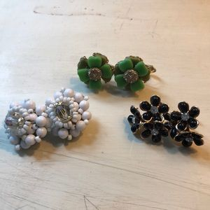 Jewelry - Vintage Clip-on Earring Bundle